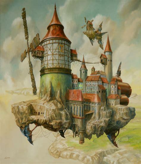surreal airships  jaroslaw jasnikowski mythania
