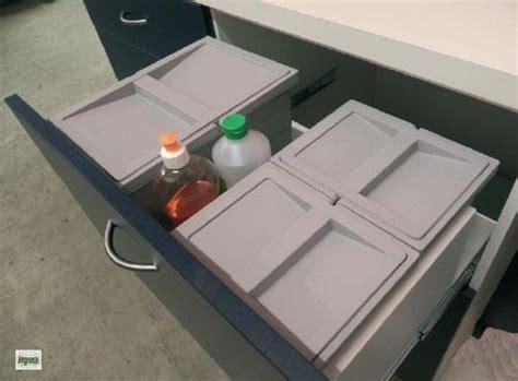 Küchen Abfalleimer Kunststoff 12 Liter Abfallsammler Höhe