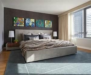 deco chambre tapisserie With decoration sur les murs