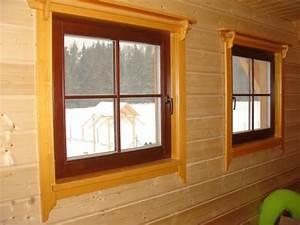 Dřevěná okna na chatu