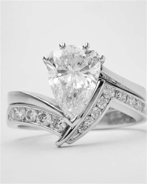 shaped wedding rings