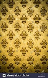 Gold Fleur De Lis Background Stock Photo Royalty Free