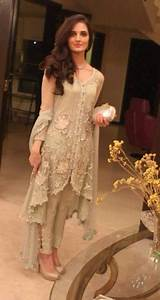 Pakistani engagement dresses designs for girls 2017-18