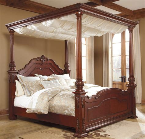 Bedroom Canopy by Furniture Martanny Poster Bed With Canopy