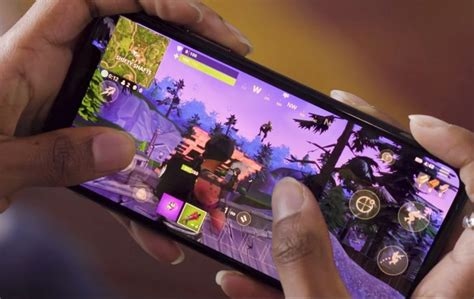 heres     fortnite mobile gameplay slashgear