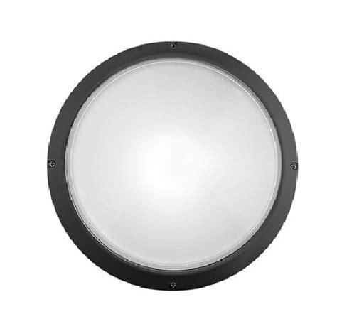 Prisma Illuminazione by Prisma 001724 Plafoniera Superdelta Tondo Nera E27 75w