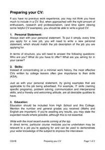 of preparing resume how to prepare a cv