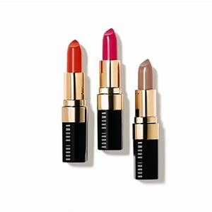 Bobbi Brown Lip Color in Atomic Orange Neon Pink & Uber