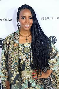 Hairstyles: Kelly Rowland – Long Braided Hairstyle ...