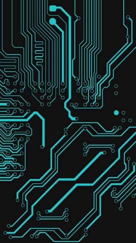 Circuit Board Digital Iphone Wallpaper Wallpapers