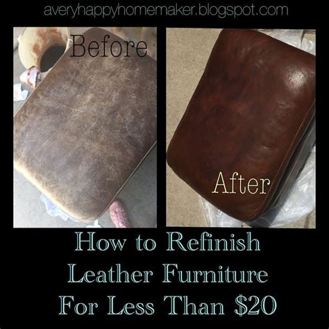 how to restore worn leather a happy homemaker don t throw out scratched leather