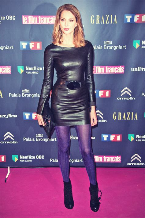 naidra ayadi swimsuit celebs attend trophees du film francais leather celebrities