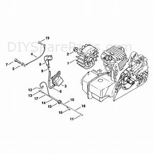 Stihl Ms 250 Chainsaw  Ms250  Parts Diagram  Ignition System