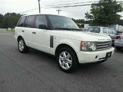 buy   land rover range rover hse sport utility