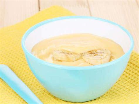 cuisine bebe recettes de bananes de la cuisine de bébé