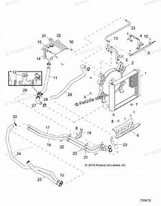 Polaris Side By Side 2016 Oem Parts Diagram For Engine