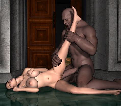 Giant Demons Ravage A Girls Pussy And Ass At Xxx 3d Monsters