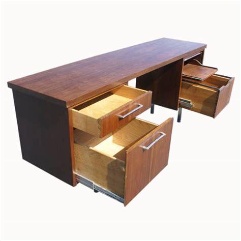 jofco desk and credenza midcentury retro style modern architectural vintage