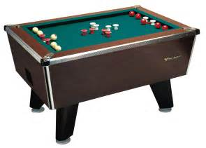 Great American Slate Bumper Pool Table