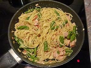 Nudeln Und Co : gr ner spargel lachs spaghetti rezepte ~ Lizthompson.info Haus und Dekorationen