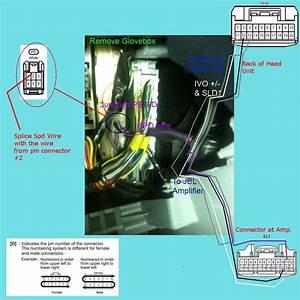How To  Install 2009  Jbl Head Unit W   Bluetooth In 2005