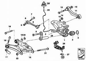 Original Parts For E53 X5 3 0d M57 Sav    Rear Axle   Rear