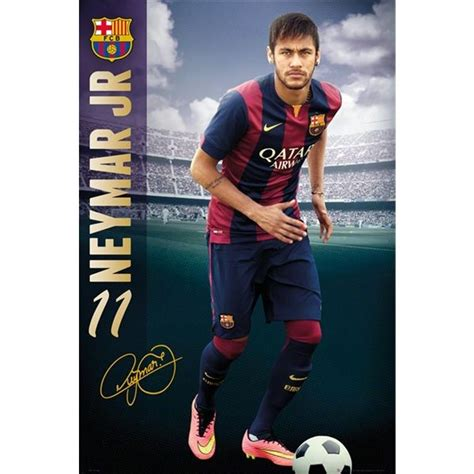 barcelona neymar poster wish list neymar jr football and fc barcelona