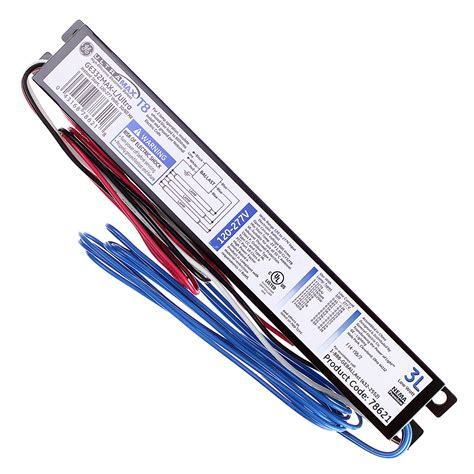t8 ballast 2 l general electric ge332max l ultra 78621 ultramax