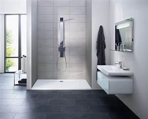 comment faire sa propre douche a l39italienne distriartisan With salle de bain design avec receveur extra plat 140x90