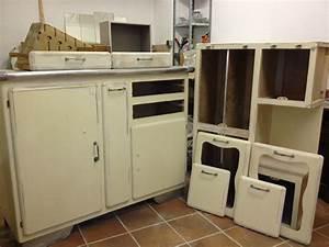 Cuisine Style Année 50 : r novation d 39 un buffet de cuisine des ann es 60 la ~ Premium-room.com Idées de Décoration
