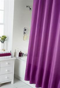Vorhänge Extra Lang : dusch vorhang schlicht modern badezimmer extra lang mit haken ringen qualitativ ebay ~ Orissabook.com Haus und Dekorationen