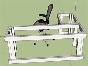 l shaped desk plans diy - Google Search Projects