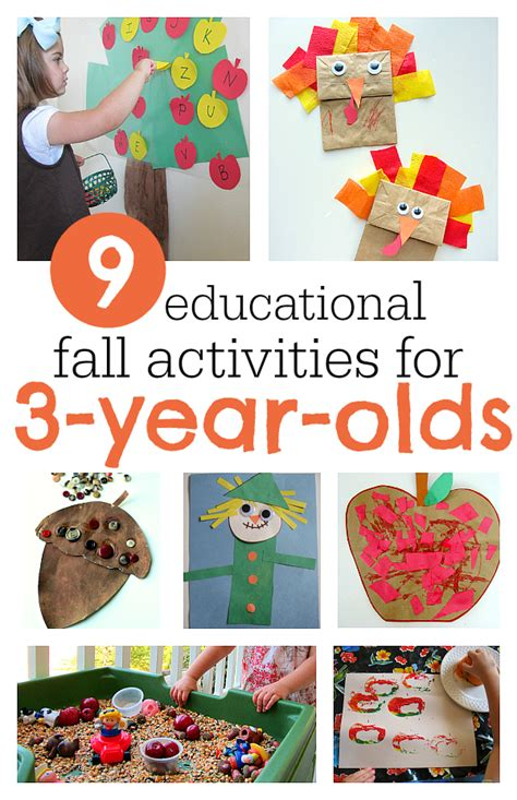 fall activities   year olds autumn