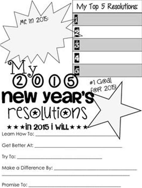 2015 new years resolution sheet a little early but since my 2014 was so popular here is 2015 s