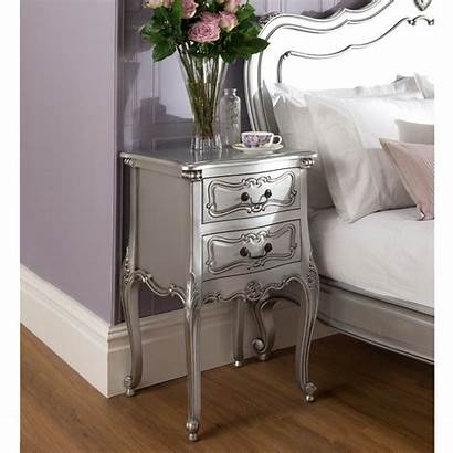 French Bedside Antique Rochelle Furniture Bedroom Tables