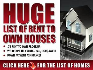 RENT TO OWN HOMES Smore