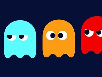 Dribbble Pac Pacman Ghosts Loop Icon Him
