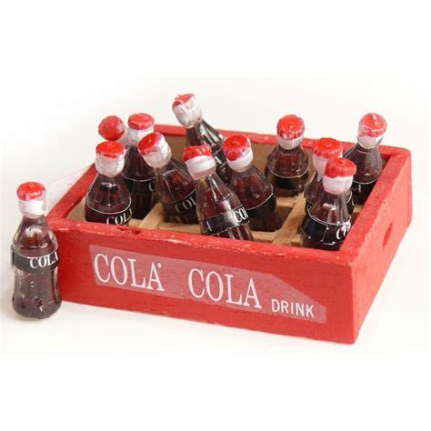objet pour vitrine miniature cagette coca achat vente