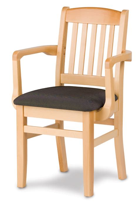 holsag bulldog wood arm chair dining chairs  braniff