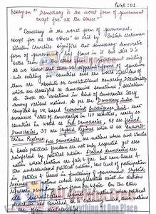 Essay On Business Communication Whither Indian Democracy Essay  Synthesis Essay Topic Ideas also Essays About Science Indian Democracy Essay Essay Written By Students Indian Democracy  Essay Style Paper