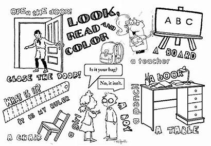 Coloring Pages Printable Teaching Teacher Writing Homework