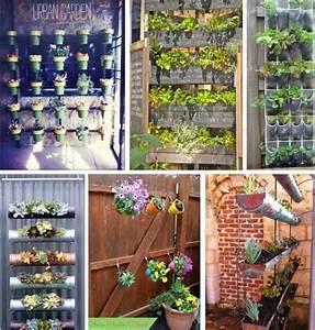Ideas para hacer jardines urbanos en espacios pequeños