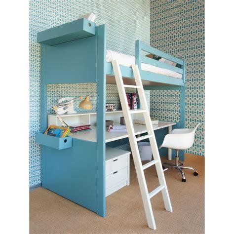 lit mezzanine metal avec bureau le meuble transformable ses évolutions de invention