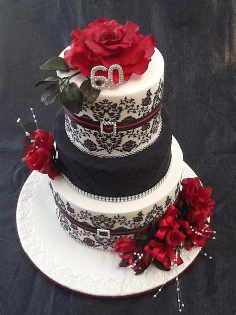 A 50th or 60th birthday cake is very special, and a great excuse for a party! 60th Birthday cake - cake by Jesssox - CakesDecor