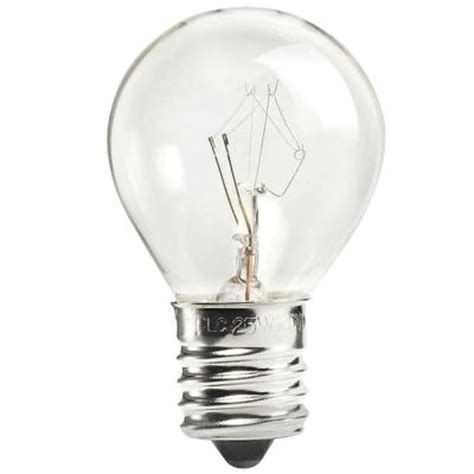 philips 25 watt incandescent s11 appliance light bulb