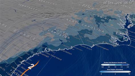 NASA Viz: Slicing Through Hurricane Matthew