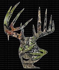 Mossy Oak Break-Up Typical Buck Head - Deer Hunting Window
