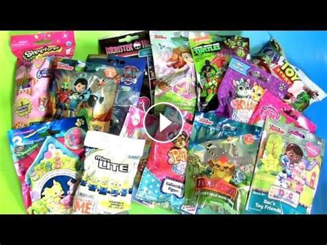 blind bags surprise shopkins sofia miles monster high tmnt