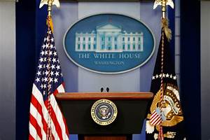 All Clear, After White House Briefing Room Evacuated ...