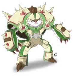 Chesnaught Mega Evolution Pokemon